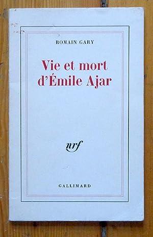 Vie et mort d'Emile Ajar.: Gary Romain: