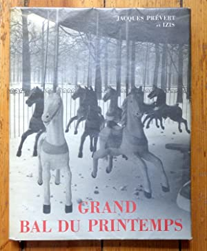 Grand bal du printemps. Photographies d'Izis Bidermanas sur Paris.
