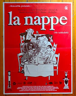 La nappe (the tablecloth).
