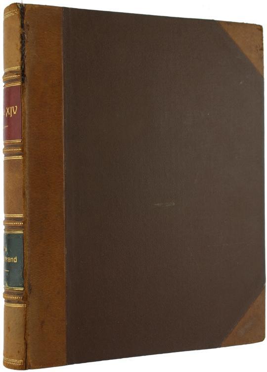 LOUIS XIV.: Bertrand Louis. (Codice SK/0279) Grand in-4 (cm 28) 362 pages. Premiére édition. Gravures en noir et blanc en frontispice et en page de titre. Illustré de 24 gravures