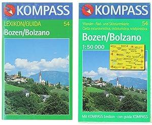 BOZEN/BOLZANO. Carta escursionistica, cicloturistica, scialpinistica n.54.: