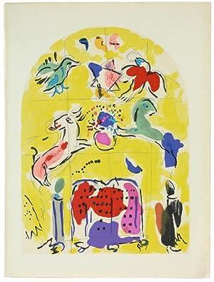 CHAGALL - VITRAUX POUR JERUSALEM.: Chagall Marc e