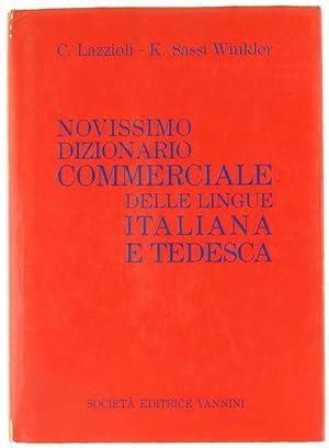 NOVISSIMO DIZIONARIO COMMERCIALE DELLE LINGUE ITALIANA E: Lazzioli C., Sassi
