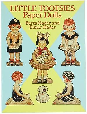 LITTLE TOOTSIES PAPER DOLLS.: Hader Berta and