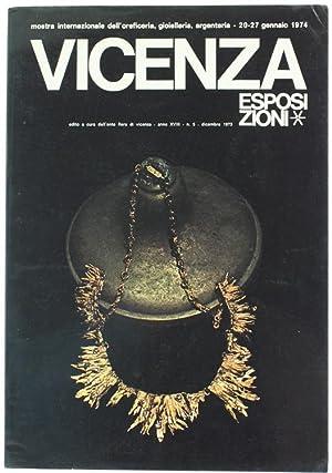 VICENZA ESPOSIZIONI. Mostra internazionale dell'oreficeria, gioielleria, argenteria.