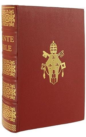LA SAINTE BIBLE du Chanoine Crampon.: