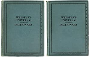 WEBSTER'S UNIVERSAL (UNABRIDGED) DICTIONARY OF THE ENGLISH LANGUAGE with a Comprehensive ...