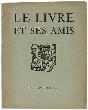 LE LIVRE ET SES AMIS. N° 2: Massonet Paul (directeur-fondateur).