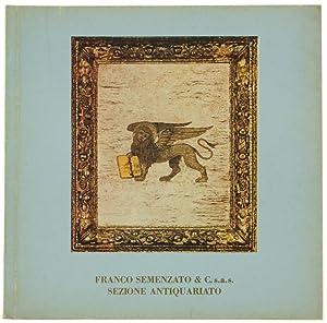 ASTA DI MOBILI ITALIANI E FRANCESI, oggetti: Franco Semenzato &