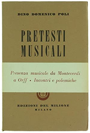 PRETESTI MUSICALI.: Poli Dino Domenco.