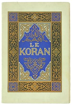 LE KORAN'.: Toussaint Franz.