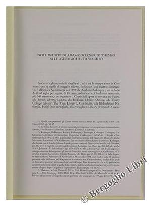 NOTE INEDITE DI ADAMO WERNER DI THEMAR: De Angelis Violetta.
