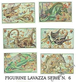 FIGURINE LAVAZZA ORIGINALI.: