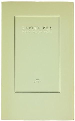 LERICI - PEA. Premio di poesia anno: Autori vari.