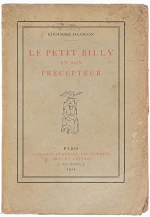 LE PETIT BILLY ET SON PRECEPTEUR.: Daanson Edouard.