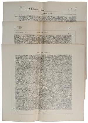 GARESSIO. F. 92 della Carta d'Italia: Nord