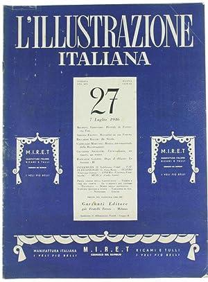 L'ILLUSTRAZIONE ITALIANA - N. 27 - 7
