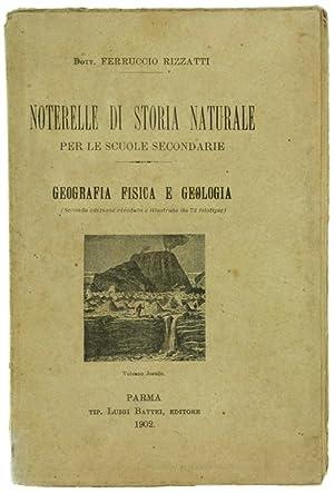 NOTERELLE DI STORIA NATURALE PER LE SCUOLE: Rizzatti Ferruccio.