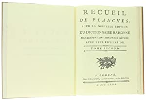CHIRURGIE, Conténant Trente-neuf Planches. RECUEIL DE PLANCHES: Diderot et D'Alembert.