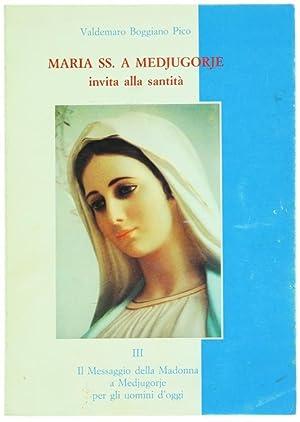 MARIA SS. A MEDJUGORIE INVITA ALLA SANTITA'.: Boggiano Pico Antonio.
