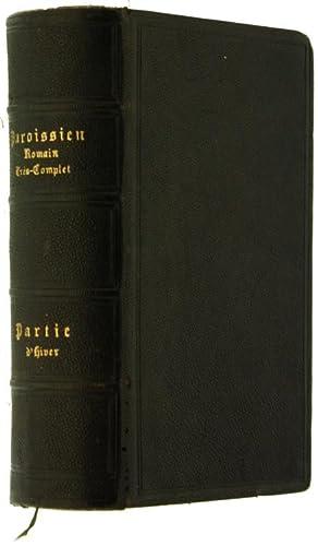 PAROISSIEN ROMAIN très complet, conténant en français: Collectif.