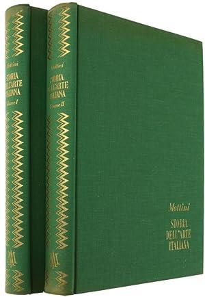 STORIA DELL'ARTE ITALIANA. Con una introduzione sull'arte: Mottini G.Edoardo.