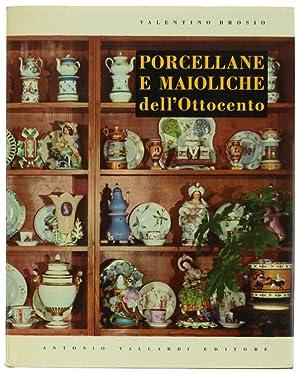 PORCELLANE E MAIOLICHE ITALIANE DELL'OTTOCENTO.: Brosio Valentino.