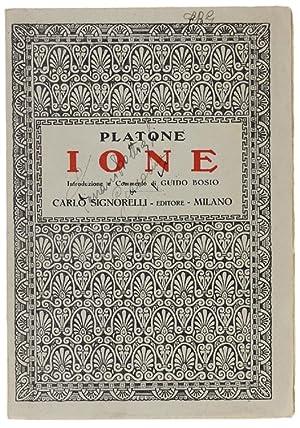 IONE.: Platone.