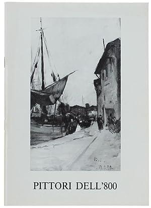 PITTORI DELL'800 - N.50. Opere provenienti da: Galleria d'Arte Fogliato.