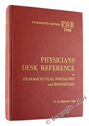 PHYSICIANS' DESK REFERENCE TO PHARMACEUTICAL SPECIALTIES AND: Folsom Paul e