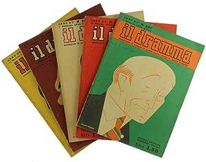 IL DRAMMA. Rivista mensile di commedie di grande successo. Prima serie: TUTTO IL PUBBLICATO.:: ...