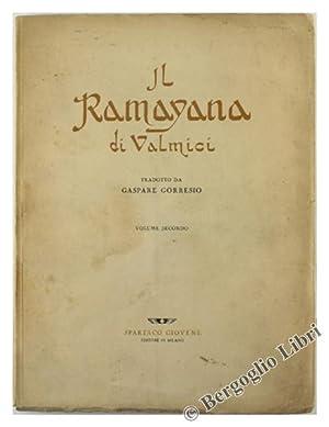 IL RAMAYANA DI VALMICI. Volume II.: Valmici.