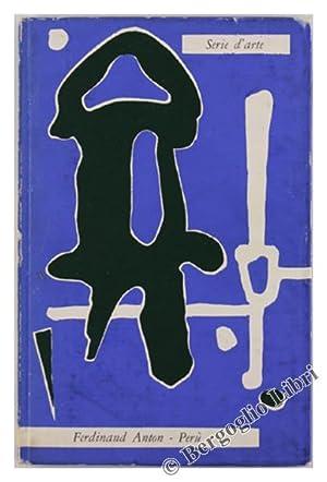 PERU'. Arte dell'era precolombiana.: Anton Ferdinand.