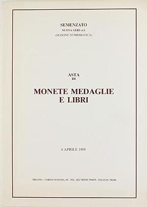 ASTA DI MONETE MEDAGLIE E LIBRI. Monete: Semenzato - Nuova