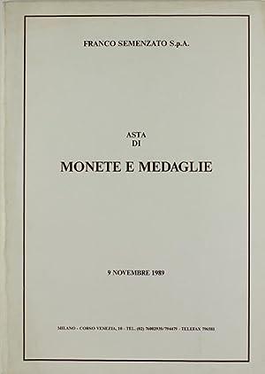 MONETE CLASSICHE. MONETE E MEDAGLIE DI ZECCHE: Semenzato Franco.