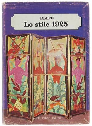 LO STILE 1925.: Brunhammer Yvonne.