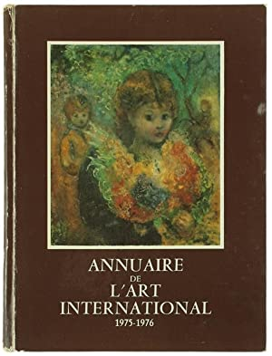 ANNUAIRE DE L'ART INTERNATIONAL 1975-1976.: Sermandiras Patrick.