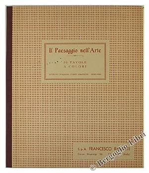 IL PAESAGGIO NELL'ARTE. 53 tavole a colori.: