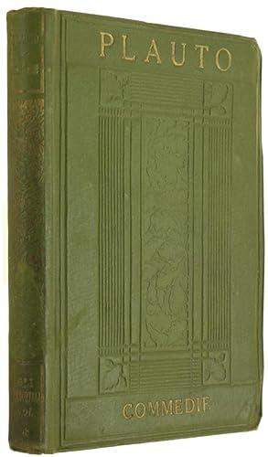 COMMEDIE. Volume III (Anfitrione, Le due Bacchidi,: Plauto.