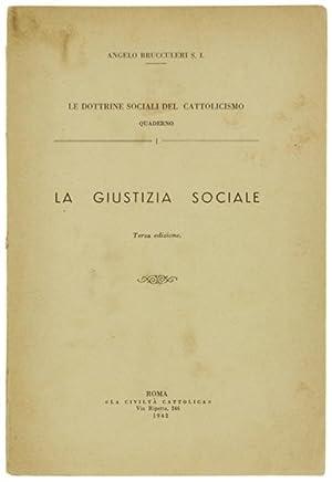 LA GIUSTIZIA SOCIALE.: Brucculeri Angelo.