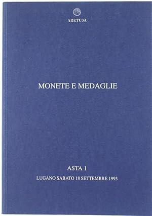 MONETE E MEDAGLIE - ASTA 1. Monete: Numismatica Aretusa S.A.
