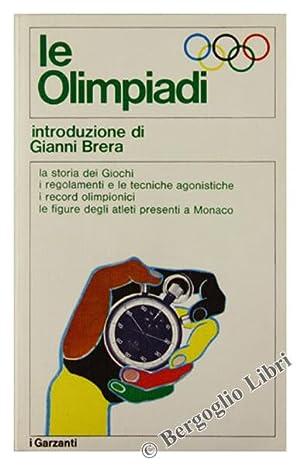 LE OLIMPIADI.: Brera Gianni (introduzione).