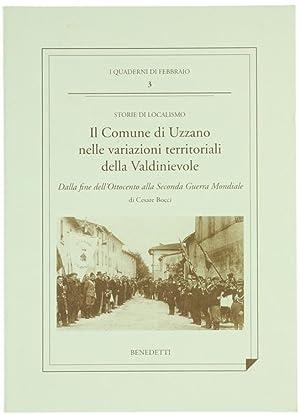 IL COMUNE DI UZZANO NELLE VARIAZIONI TERRITORIALI: Bocci Cesare.