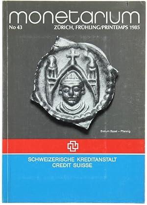 MONETARIUM- Zurich - Liste 43. Frühling /: Schweizerische Kreditanstalt /