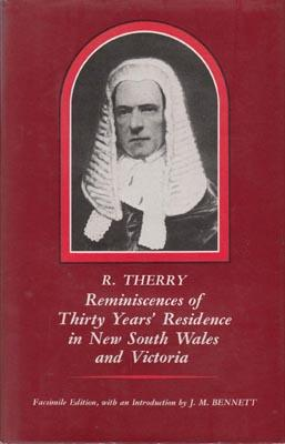 Reminiscences of Thirty Years' Residence in New South Wales and Victoria. Introd. by J.M. ...