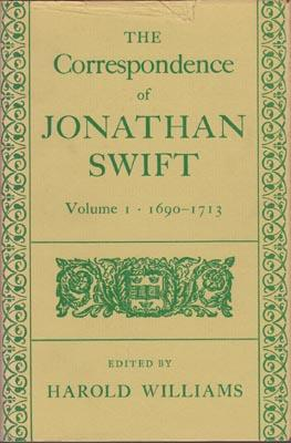 The Correspondence of Jonathan Swift. Edited by Harold Williams. 5 vols. complete and all published...
