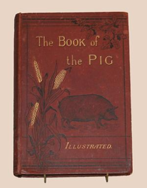 The Book of the Pig: Its Selection Breeding Feeding and Management. Illustrated by Harrison Weir ...