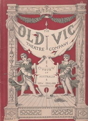 The Old Vic Theatre Company. A Tour: MILLER T. Ed.