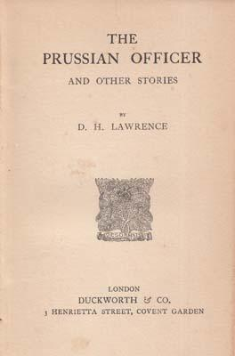The Prussian Officer and Other Stories.: LAWRENCE D.H.