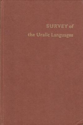Survey of the Uralic Languages. .: COLLINDER, Bjorn. Compl. by.